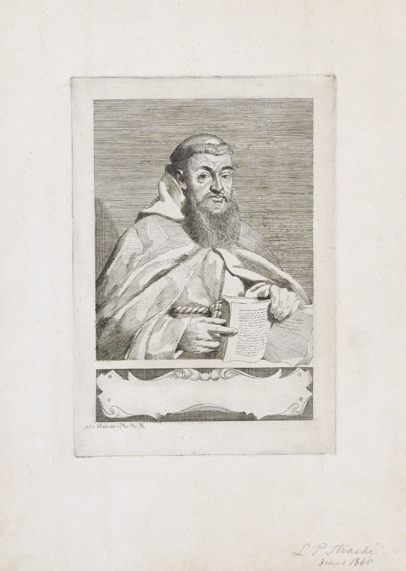 Etching by Leo Stracké.