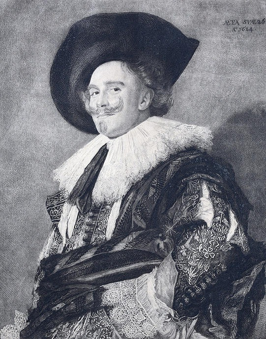 The Laughing Cavalier by Frans Hals.