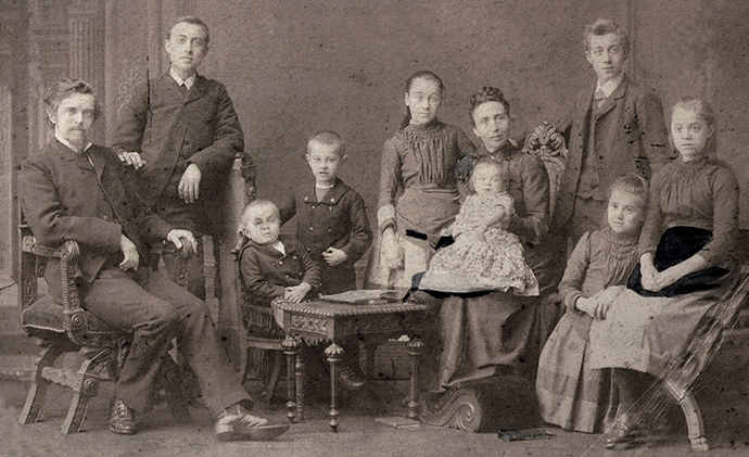 Arendzen Family, an early picture.