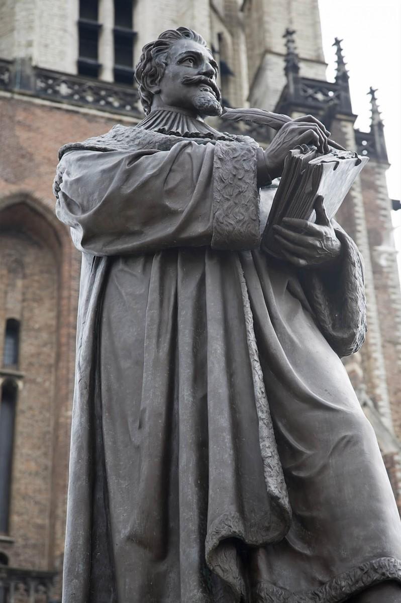 Hugo Grotius by Frans Stracké