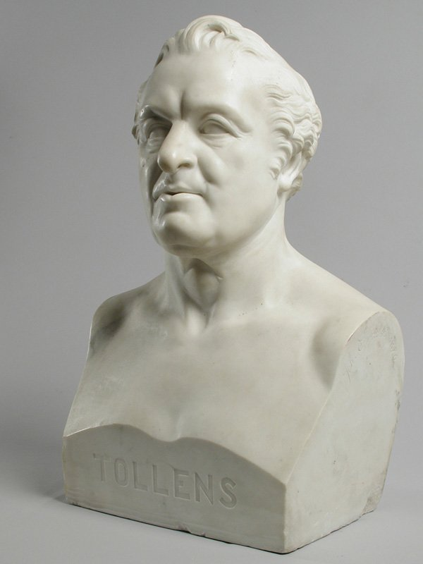 Hendrik Tollens by Johan Stracké